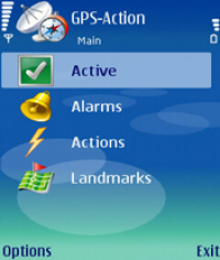 GPS-Action screenshot