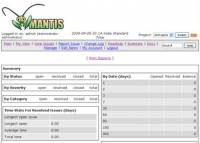 Webuzo for Mantis Bug Tracker screenshot