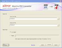 Word to PDF Converter screenshot