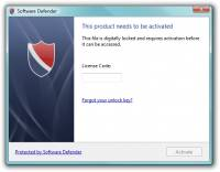 Software Defender screenshot