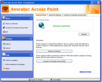 Averatec Access Point screenshot