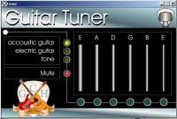 Mac OSX Guitar tuner screenshot