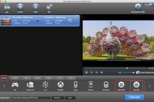 Total Video Converter for Mac OS X screenshot