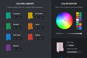 Folder Colorizer Pro screenshot