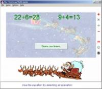 The Christmas Math Game screenshot