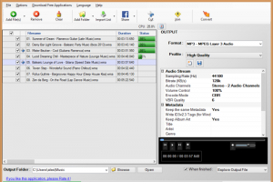 Free Convert WMA To MP3 screenshot