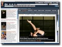 Fighting Illini IE Browser Theme screenshot