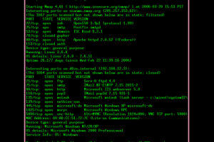 Nmap for Mac OS X screenshot