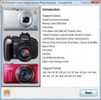 BYclouder Canon Digital Camera Photo Recovery screenshot