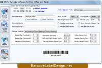 Design Postal Barcode screenshot