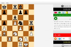 Chess Tournaments (Windows setup) screenshot