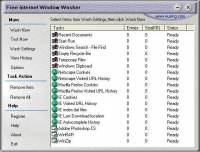 Eusing Free Internet Window Washer screenshot
