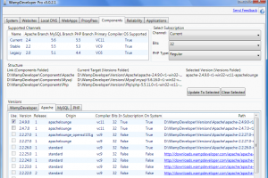 Web-Developer Server Suite screenshot