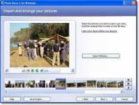 Photo Story 3 for Windows XP screenshot