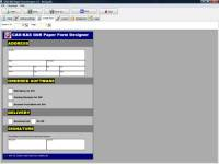 Paper Form Designer screenshot