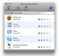 Macsome Audio Recorder screenshot