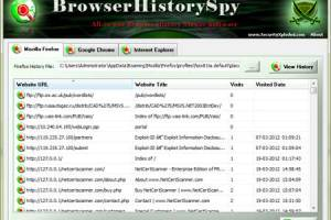 Browser History Spy screenshot