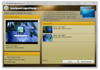 Leexsoft LogonChange screenshot