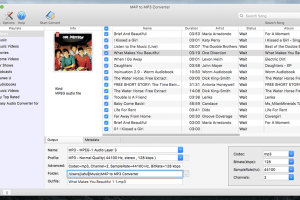 M4P to MP3 Converter for Mac screenshot