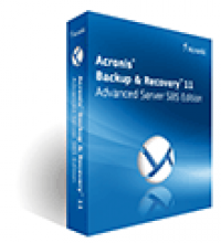 Acronis Backup and Recovery 11 Advanced Server SBS Edition screenshot
