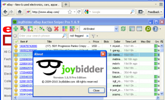 JoyBidder screenshot