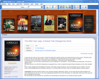 Software for Library screenshot
