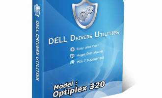 DELL OPTIPLEX 320 Drivers Utility screenshot