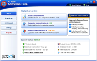 PC Tools AntiVirus Free screenshot