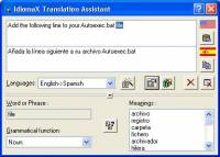 IdiomaX Translation Assistant screenshot