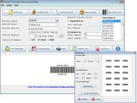 Barcode Interleaved 2 of 5 Software screenshot