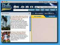 UCLA Bruins IE Browser Theme screenshot