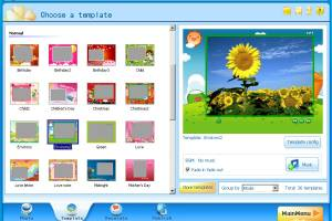 iPixSoft Flash ScreenSaver Maker screenshot