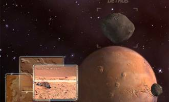 Mars Observation 3D Screensaver screenshot