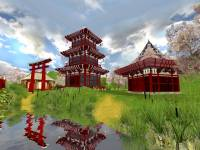 Japanese Garden 3D Screensaver screenshot