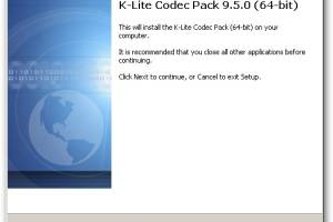 K-Lite Codec Pack 64-bit screenshot