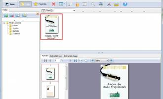 A-PDF Scan Paper screenshot
