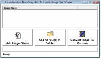 Photo To Cartoon Image Converter Software screenshot