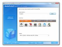 MediaProSoft Free MP4 to AVI Converter screenshot
