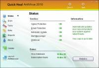 Quick Heal AntiVirus 2010 screenshot