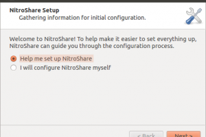 NitroShare screenshot
