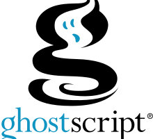 Ghostscript screenshot