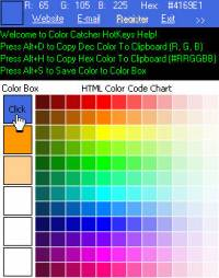 ColorCatcher screenshot