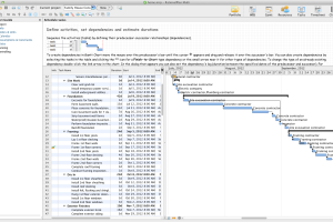 RationalPlan Multi Project for Mac screenshot