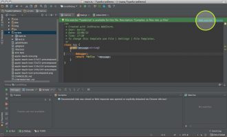 WebStorm for Mac screenshot