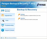 Paragon Backup & Recovery Free Edition screenshot