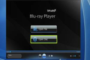 Tipard Blu-ray Player screenshot