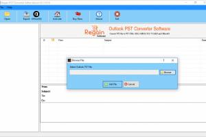 Regain Outlook PST Converter screenshot