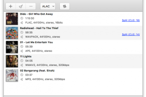 MediaHuman Audio Converter MAC screenshot