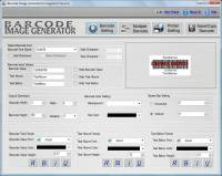 Barcode Label Making Software screenshot