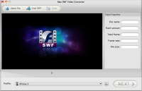 Doremisoft Mac SWF Video Converter screenshot